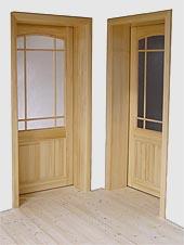 Bukové dveře